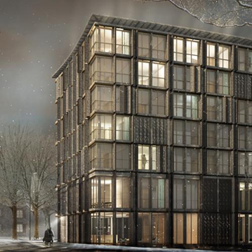 Wettbewerb Hotel Heiden 2012, Harry Gugger Studio, Basel