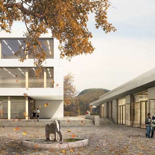 Wettbewerb Sekundarschule Sissach 2014, rba architekten, Olten