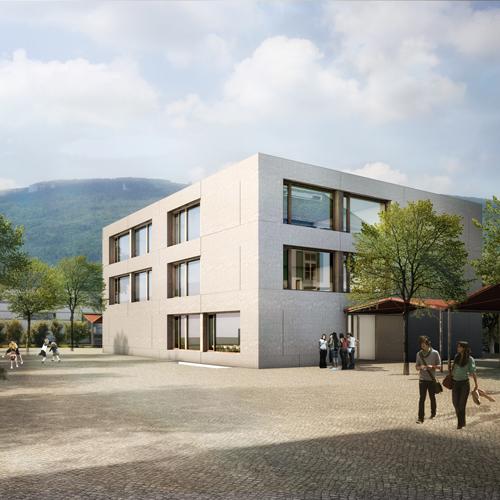Wettbewerb Primarschule Kestenholz 2014, rba architekten, Olten