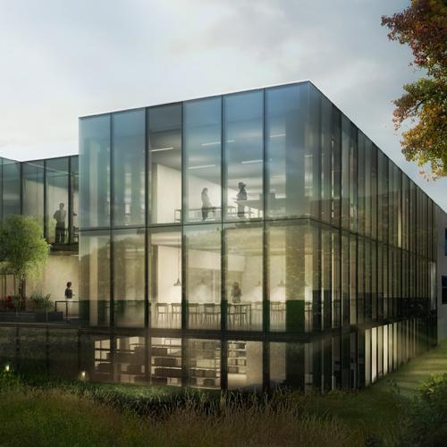 Wettbewerb Staatsarchiv Zürich 2013, Harry Gugger Studio, Basel
