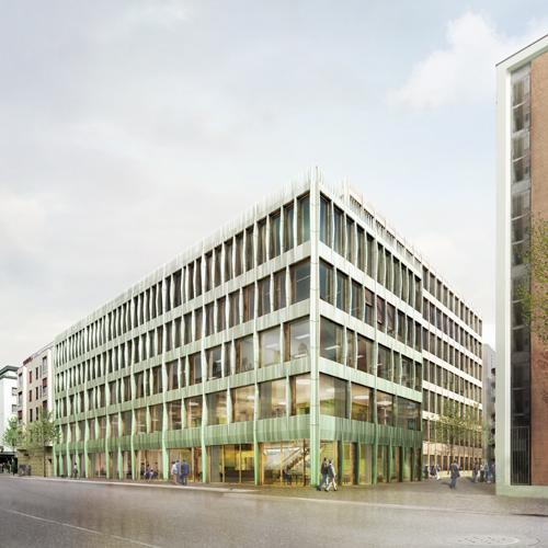 Wettbewerb Campus Rosental Basel 2014, Harry Gugger Studio, Basel